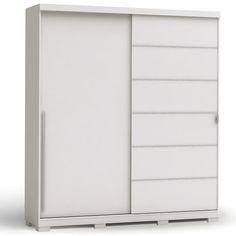 r$ 1.154,91 + 80 reais frete Guarda-Roupa 2 Portas de correr B572 Kappesberg Branco - Móveis e Decoração - Guarda-roupas - Walmart.com