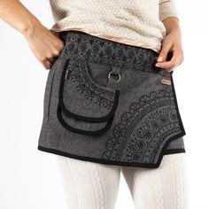 Wool Skirt » visit POCAIDO ROCK SHOP for these woolen skirts by the picture-link. #Moshiki #Wrapskirt #Wickelrock #Roecke #clothing #fashion #moda #Mode #Style #Shop ➦ pocaido.com Dark Mori, Nerd Art, Rock Chick, Trends, Picture Link, Wool Skirts, Style Ideas, Lace Skirt, Student