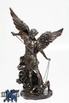 8097 St. Michael Statue  17 1/2″ x 13″ x 31 3/4″  25 lbs