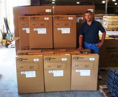HTS Systems customer orders for fleet customers in the midwest region. Carl Boettcher of HTS Systems at JCM Manufacturing.