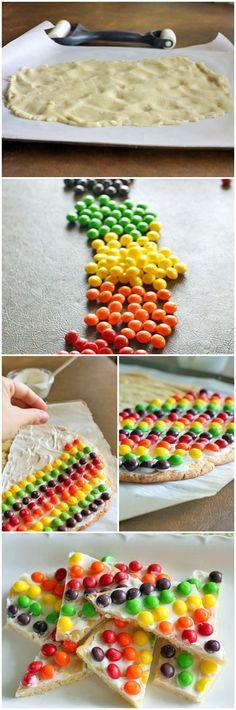 Rainbow Sugar Cookie Bark