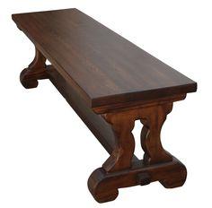 Reclaimed Wood Lourdes Bench