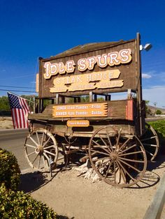 Idle Spurs Steakhouse in Barstow, Ca.    Idle Spurs has been the go to steakhouse along the former Route 66 since 1951.  (Photo by Cheryl Signorelli) 2015