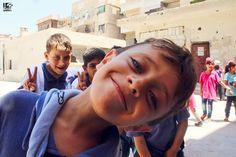 """"""" صورني سيلفي ورفئاتي خلفي :D """" جنوب دمشق في 18/8/2016 South of Damascus on 18/8/2016 """" Take a selfie of me with my friends behind me :D """" #Syria #Damascus #دمشق #سوريا #عدسة_شاب_دمشقي"""