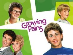 Growing Pains... my favorite show!  And I am actually pretty happy I didn't run off and marry Kirk Cameron (I could never be that perfect!!!)