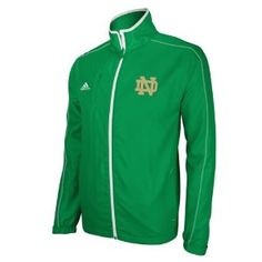 Notre Dame Adidas Fighting Irish Lightweight Jacket Green  $74.99    use coupon code: cybermonday for an additional 15% off