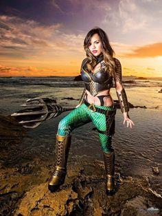 Get Ready For The Latest DC Blockbuster Aquaman With Some Hot Mera Cosplay Ideas Aquaman Cosplay, Dc Cosplay, Cosplay Outfits, Best Cosplay, Cosplay Girls, Cosplay Costumes, Female Cosplay, Halloween Costumes, Superhero Cosplay