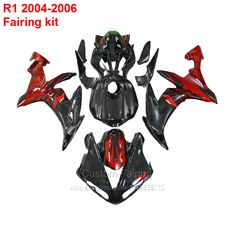 For YAMAHA YZF R1 04 06 Fairing kit (  ) Free shipping Injection fairings lx01