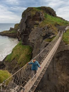 Carrick a Rede Rope Bridge - Northern Ireland