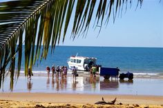 Mission Beach Dunk Island Water Taxi  A short 10 minute ride over azure blue waters of the Coral Sea and you are visiting one of Australia's most beautiful National Park islands; Dunk Island.