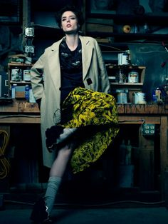 Harper's Bazaar Russia - May 2014 Photographer: Ben Cope Photography Fashion Editor/Stylist: Erin Walsh Hair Stylist: Marco Santini Makeup Artist: Daniel Martin
