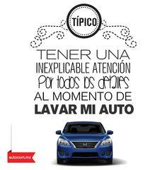 Una sensación que nos dice que todo debe quedar perfecto #Nissan #Auto #Autocom #Típico