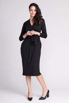 Digital Olivia Jersey Wrap Dress Sewing Pattern   Shop   Oliver + S
