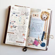 Week 22. #midoritravelersnotebook #travelersnote #travelersnotebook #scrapbooking #planner #organizer #agenda #journal #journaling #washi #washitape #maskingtape #mttape #stationery #文具 #文房具 #手帳 #紙膠帶 #日記