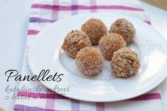 Panellets, katalánské cukroví z batátů (nebo bramboru) Cereal, Muffin, Breakfast, Blog, Morning Coffee, Muffins, Blogging, Cupcakes, Breakfast Cereal