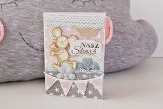 Babskie zachcianki: Kartki dla maluszka z nutką uroczej szarości.