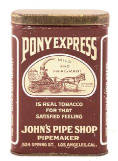 Rare Vintage Spice Tins | ... extremely rare early tin litho vertical tobacco pocket tin for pony