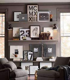We're still loving the structure and detail of almost any form of typography wall art.  Sure while these trends are perfectly suited for your home office or den, we recommend lining your hallway or mount on your wall heading upstairs to your second floor to help create depth and dimension.  Flip through some of our favorites of the season.