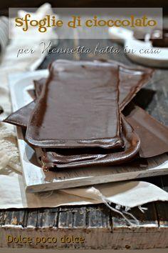 #SFOGLIE di #CIOCCOLATO FONDENTE, al latte o bianco. FACILISSIMO anche con cioccolato amaro X #dolci #senzazucchero #BASSO #IndiceGlicemico . ADATTE x VIENNETTA o altri #semifreddi. #Dolcipocodolci