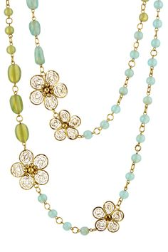 Nature's Floral Necklace