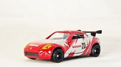 TAKARA TOMY Race Track Car NISSAN FAIRLADY Z RACING TYPE 50 Vehicle Diecast Red & Silver Color