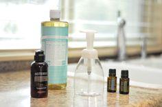 DIY: Foaming Hand Soap   Order: http://www.mydoterra.com/hollygolds/