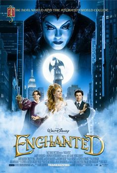 21. Enchanted (2007)|OPのアニメとEDシーンがHappyで良かった。
