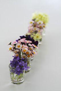 Petits bouquets de mon garçon