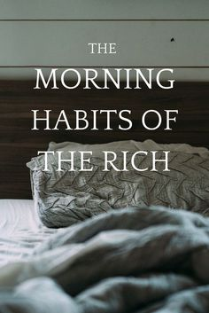 The Morning Habits of the Rich -- tips for living a wealthy life and creating an abundant mindset on the School of Greatness podcast