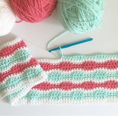 I'm too in love with this blanket to not share the pattern right away! Even though the blanket isn't finished,…