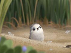 Behind the Scenes of Piper, Pixar's Best Short Film in Years Disney Love, Disney Magic, Disney Art, Disney Pixar, Disney Memes, Piper Pixar, Piper Bird, Funny Animals, Cute Animals