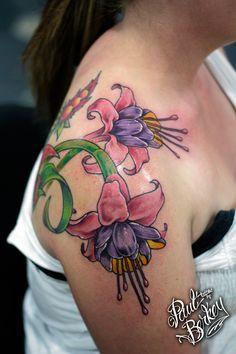 47 best fuchsia tattoo luv u grandma 39 images on pinterest bird tattoos tatoos and tattoo art. Black Bedroom Furniture Sets. Home Design Ideas