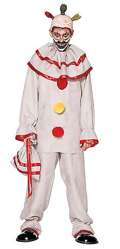 "For those who enjoy scaring every trick-or-treater, this ""American Horror Story"" Twisty the Clown costume is sure to be a hit. See more Halloween costumes for adults."