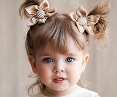Coiffure bébé fille , 62 idées faciles et trop mignonnes