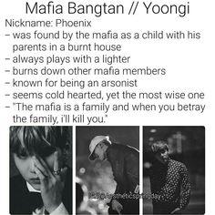BTS Mafia Bangtan Min Yoongi Suga Imagine Mafia Bangtan