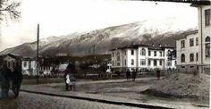 Bursa, 1927 Heykel henüz yokken Bursa Heykel Meydanı.