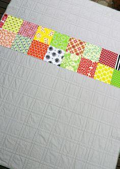 'Summer Daze' quilt back by @Rita - Red Pepper Quilts