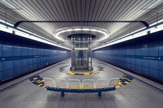 """In a 1997 book by Christoph Hackelsberger, a member of the city's subway planning council is quoted as saying that transit stations should """"radiate a positive mood"""" and purposefully """"help make a passenger's wait more pleasant."""""""