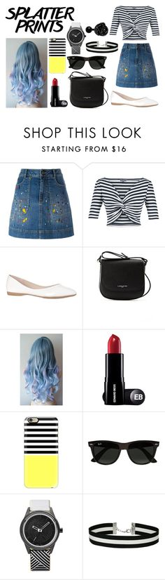 """Spring Style #49"" by paola200 ❤ liked on Polyvore featuring Alice + Olivia, Lena Hoschek, Lancaster, Casetify, Ray-Ban, SmileSolar and Miss Selfridge"