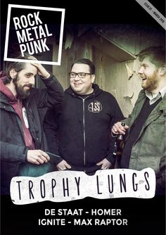 RMP Magazine #25  Trophy Lungs, De Staat, Homer, Ignite & Max Raptor