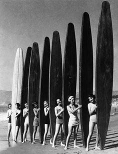 Vintage surfer girls RP by Splashtablet the suction-mount, waterproof iPad, tablet, smartphone case. http://www.amazon.com/iPad-Case-Suction-Mount-Waterproof-Kitchen/dp/B00DBCMM2S Grab one under $44