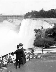 American Falls from Goat Island, Niagara, 1908