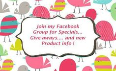 My Facebook Group...No consultants please