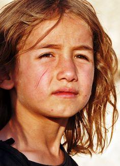 A Kurdish girl from Mardin Province, Turkey.