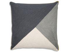 NIki Jones - Albers Cushion - Slate