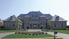 Grand Manor (HWBDO13820)   Chateauesque House Plan from BuilderHousePlans.com