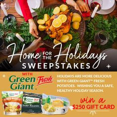 Home for the Holidays with Green Giant™ Fresh!