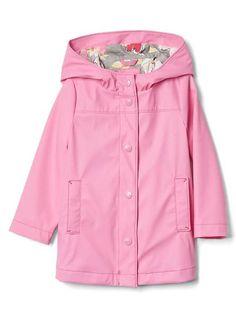 $27.57 - GAP Jersey-lined rain mac jacket