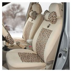 Zebra Leopard Print Lace Car Seat Cover Car Seat Cushion Fabric Set | eBay
