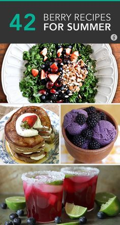 Healthy Berry Recipes #berries #recipes #healthy